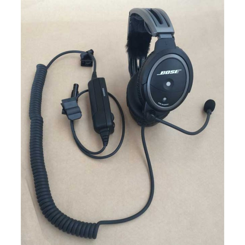 7c978051ca2 Bose A20 ANR Headset with Bluetooth