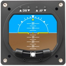RC Allen 2600-2 Electronic Artificial Horizon Indicator