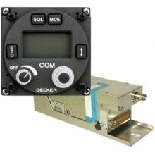 Becker CM3201 Remote VHF Comm + CU5209 Controller