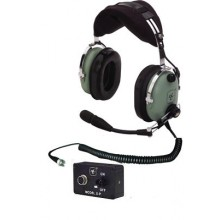 David Clark H10-13HXP ENC ANR Headset Helicopter (Installed Version)