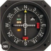 Mid Continent MD200-306 VOR/ILS/GPS Indicator
