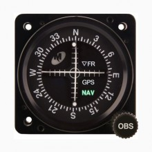 Mid Continent MD222-406 2.25 inch VOR/ILS/GPS Indicator