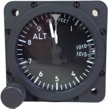 Aerosonic Altimeter, 2 inch, mb subscale