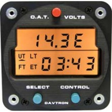 Davtron M803 Digital Clock + Volts and OAT