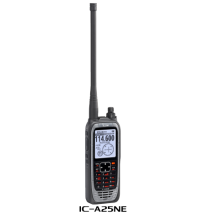 Icom IC-A25NE VHF Handheld Com Transceiver (With GPS & Bluetooth)