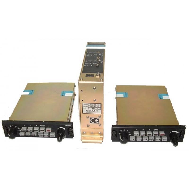 Becker 3000 series audio panel intercom system - USED