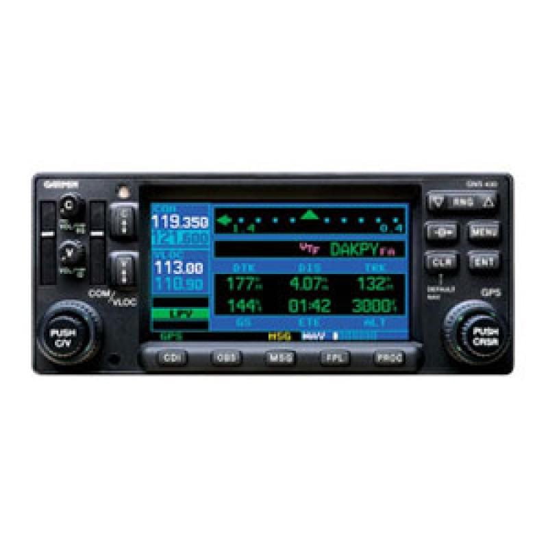 Garmin GNS430W GPS/NAV/COM on