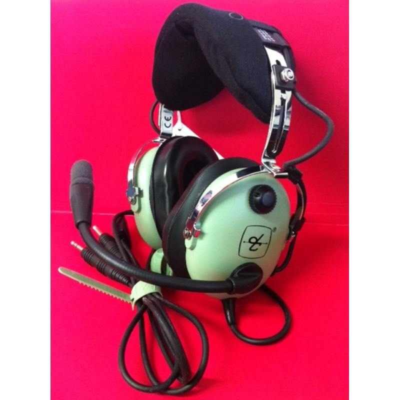 David Clark H10-13.4 Headset GA (Twin Plug) Version - USED on
