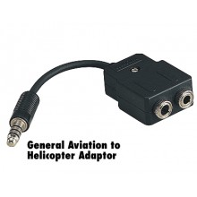 Avcomm P2004 Headset Adapter GA to Heli