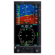 Aspen Evolution E5 Dual Electronic Flight Instrument