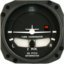 Mid Continent Instruments 1394T100 Turn Coordinator