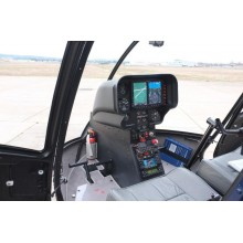 Garmin G500H Primary Flight Display For Robinson R44.
