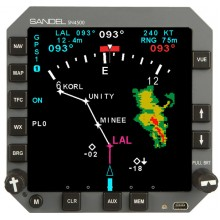 Sandel SN4500 4ATI Primary Navigation Display
