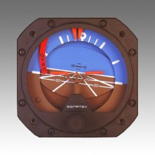 Sigma-Tek 5000B Artificial Horizon, Air, with Warning Flag