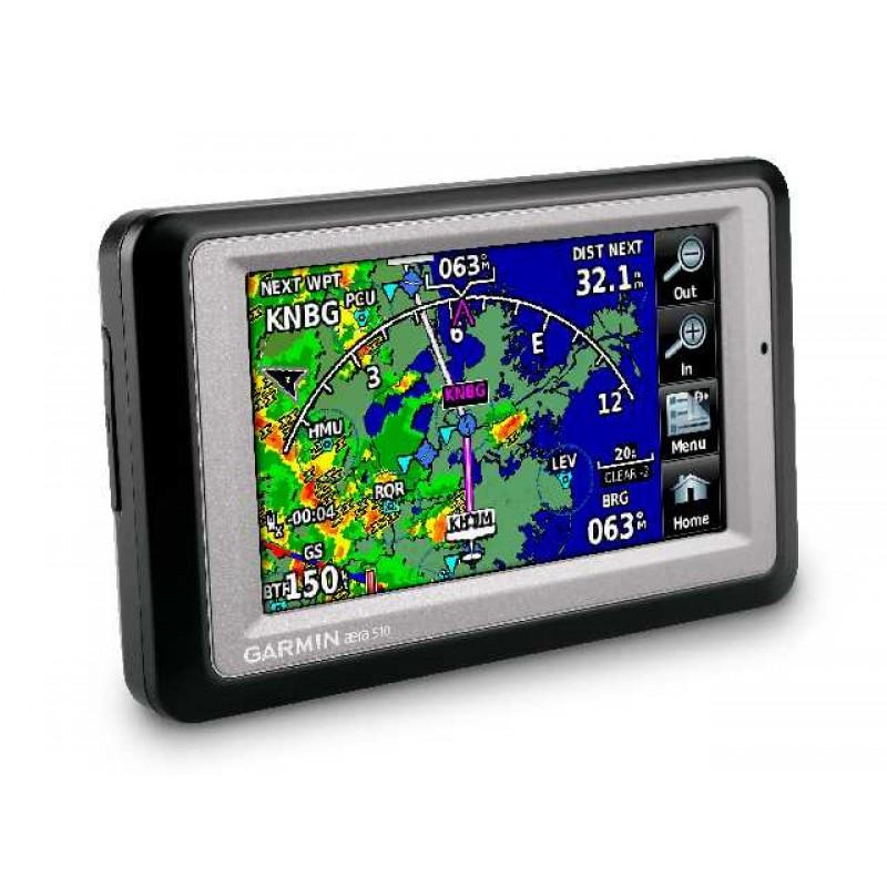 Garmin Aera 500 Touch Screen Aviation Portable GPS on
