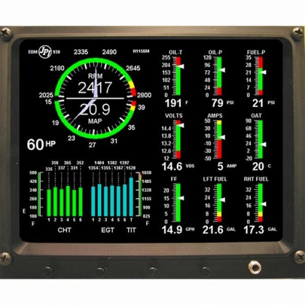 J P Instruments Edm930 Digital Engine Monitor