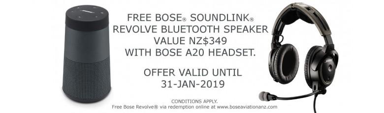 Bose A20 Summer Promo