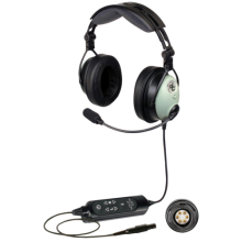David Clark DC One-XP ANR Headset  (Installed - 6 Pin Lemo Plug)