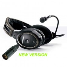 Bose A20 ANR Headset with Bluetooth, Installed (XLR Plug)