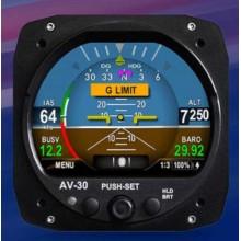 uAvionix AV-30 Flight Display