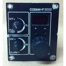Codan Square Control Head for Codan 2000HF System- USED