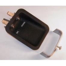 Headset Jack Housings - 1 Mic / 1 Phone - GA - Recessed