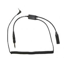 Pilot USA GA Headset Recorder Adapter for iPhone/Smartphones