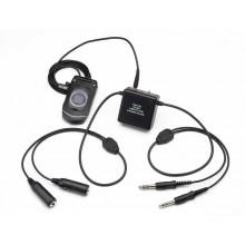 Pilot USA Amplified Cell Phone Adapter GA (Twin Plugs) Version