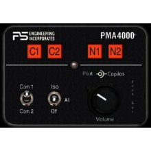 P S Engineering PMA4000 Audio Panel / Intercom